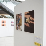 Photos taken of the Norfolk Carers Photo Exhibition for Carers Week - pictures show the various images on display boards.